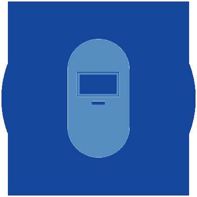 Rubb manufacturing icon