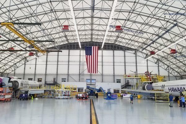 Hawaiin mro hangar